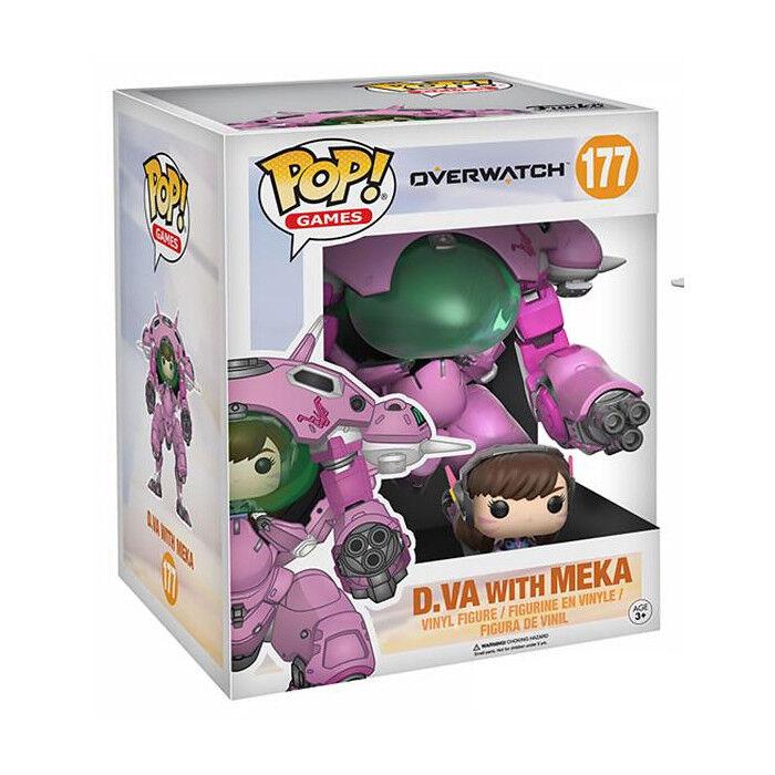 POP  Games  177 - Overwatch - D.VA & Meka Super Größed Vinyl Figure Funko