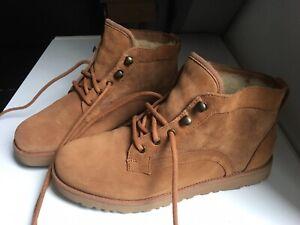 Ugg full sheepskin lining trainer boots