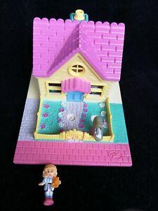 Confiant Polly Pocket Cozy Cottage Pollyville 1993-afficher Le Titre D'origine