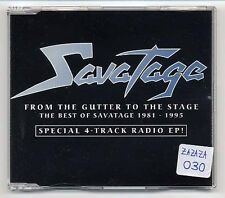 Savatage Maxi-CD SPECIAL 4-TRACK RADIO EP - promo - from the gutter to the stage