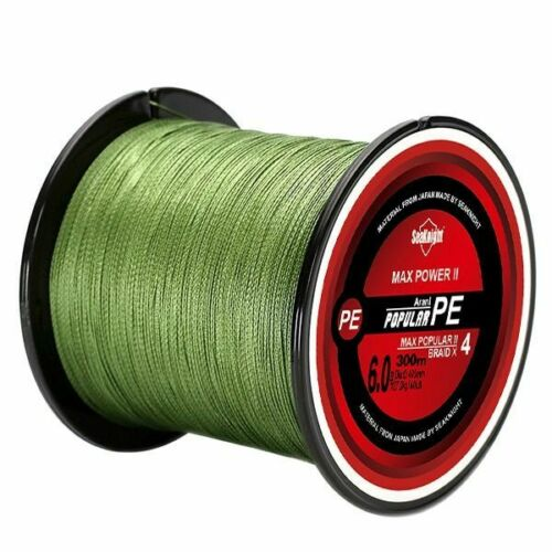 Fishing Line 4 Strands Braided Fishing Line 8-80lb Multifilament Line Smooth Fis