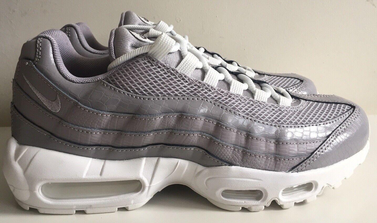 Nike Air Max 95 PRM Wmns Wmns Wmns Talla 7 Reino Unido 41 EUR gris blancoo 807443 015  la mejor oferta de tienda online
