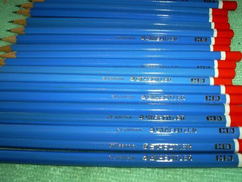 20 HB BLUE  STAEDTLER PENCILS MADE IN ENGLAND