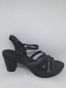 best sneakers 30d13 54005 Details zu Think Damen Sandalen Sandaletten Gspusal Schwarz Echtleder Gr.42  Neu&OVP