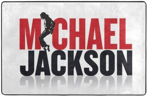 Michael Jackson Rugs Non-Slip Area Rug Living Room Bedroom Floor Mat Soft Carpet