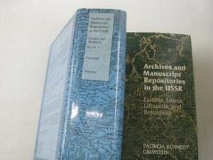 2-vol-Archives-and-Manuscript-Repositories-in-the-U-S-S-R-Ukraine-and-Moldavia