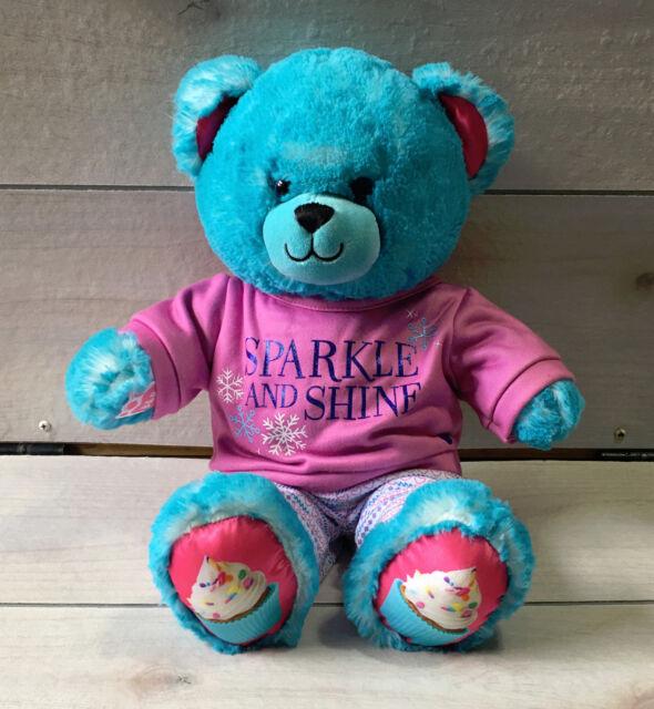 A89 Build A Bear Cupcake Sparkle  Shine Clothes Plush 15 -6356