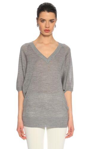 a L maglia grigia lavorato Nuovo oversize in Millen maglia 8 lana a a Maglione Karen Xs Top lavorato 14 xIqpwa