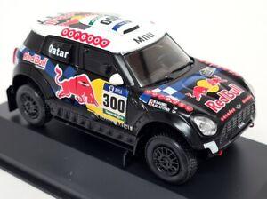 Luppa 1/43 Scale Mini All4 racing 2016 #300 Dakar Rally Al-Attiya Model Car