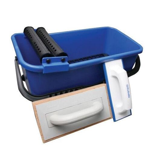 20 L Fliesenleger Waschbox Wascheimer Fugbox Waschset NEU NEU NEU | Gewinnen Sie das Lob der Kunden  | Ausgezeichnetes Preis  | Stabile Qualität  4b1af7