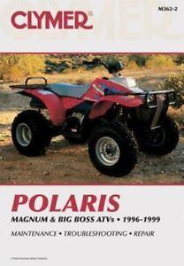1996 1999 Polaris Magnum 425 Big Boss 500 6x6 4x4 Repair Service Manual M3622 Ebay