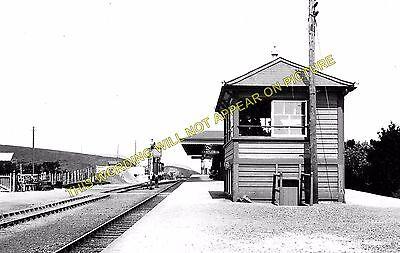 Newquay Line. Goonhavern Perranporth Beach Railway Station Photo Mithian 1