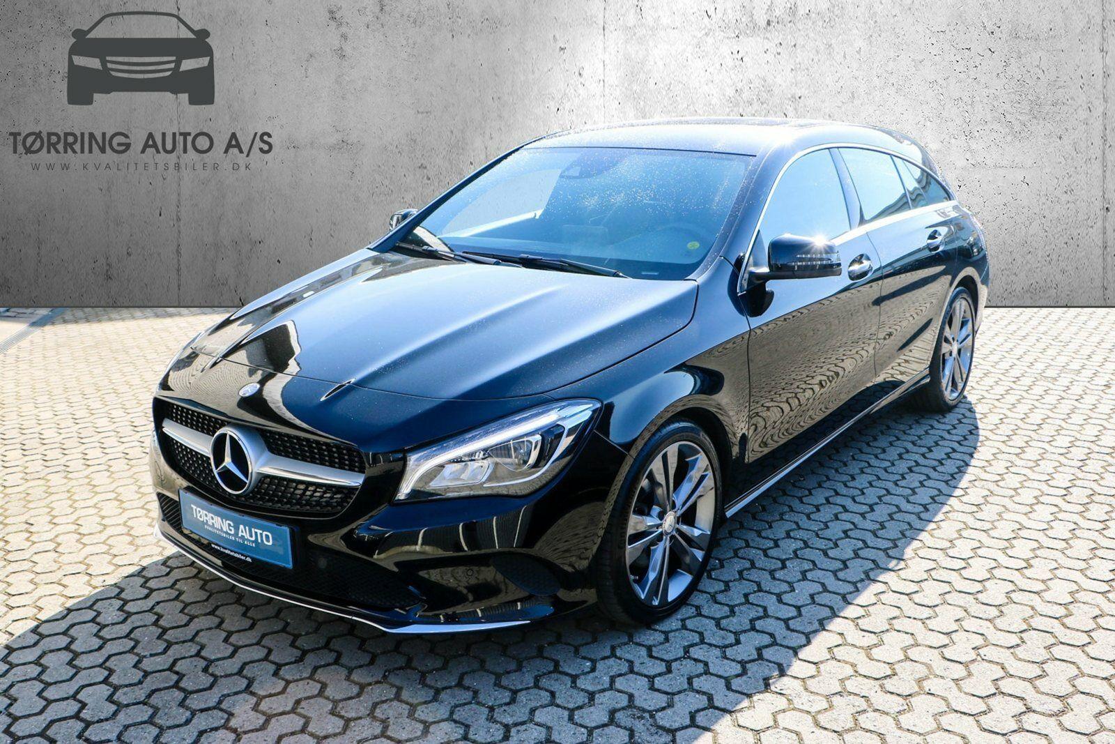 Mercedes CLA220 d 2,2 SB aut. 5d - 367.900 kr.