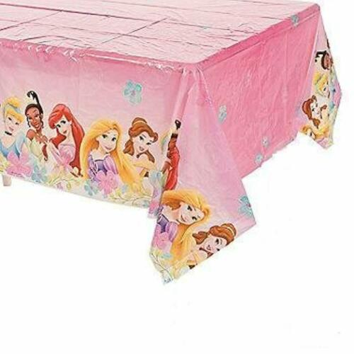 Disney Fanciful Princess Cartoon Birthday Party Decoration Plastic Tablecover