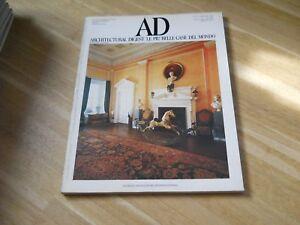 Ad rivista internazionale di arredamento design architettura n