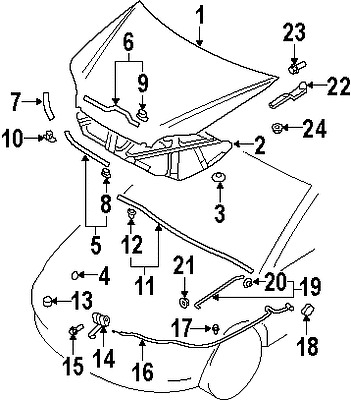 Mitsubishi Lancer Drawing