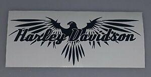New!Harley-Davidson Black or White Eagle Vinyl Decal Sticker Free Shipping