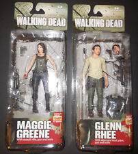The Walking Dead Series 5 Glen Rhee and Maggie Greene Action Figure Mcfarlane