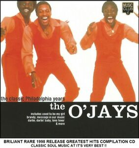 Details about The O'Jays - The Very Best Greatest Hits Collection RARE 1998  CD 70's Soul Music
