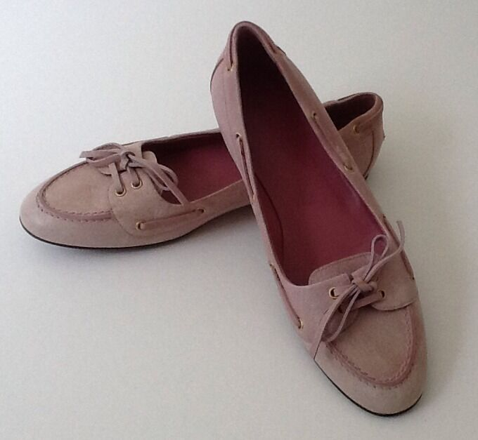 Men/Women Pink Leather Balenciaga loafers moccasins 36.5/6.5 Many varieties The latest technology International big name