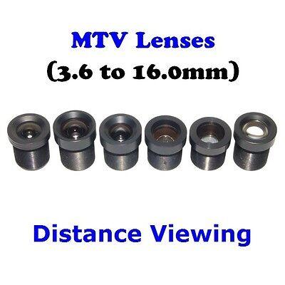 Sunvision CCTV 2.5mm F1.8 Monofocal 130⁰ Wide Angle MTV//M12//Board Camera Lens