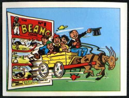 C846 The Magic Of The Beano #28 Merlin 1989 Sticker