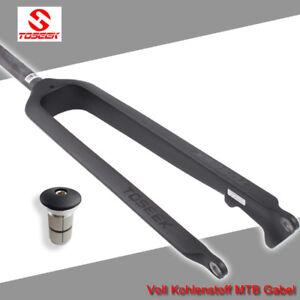 TOSEEK-MTB-26-27-5-29-034-28-6-mm-Fahrrad-Carbon-Starre-Gerade-Gabel-Starrgabel