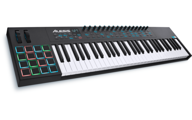 Alesis VI61 Advanced 61-Key USB//MIDI Keyboard Controller
