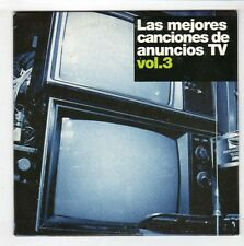 (HB739) Las Mejores Canciones de Anuncios TV Vol 3, 5 tracks - 2005 DJ CD
