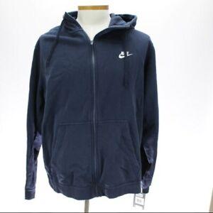 Details about Nike Men's Air Force 1 Hoodie Jacket SZ XXL Zipper From Hem To Hood Blue NWT