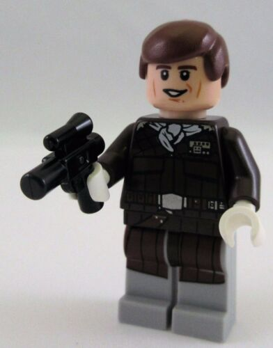 New LEGO Star Wars Han Solo Minifigure from Assault on Hoth 75098