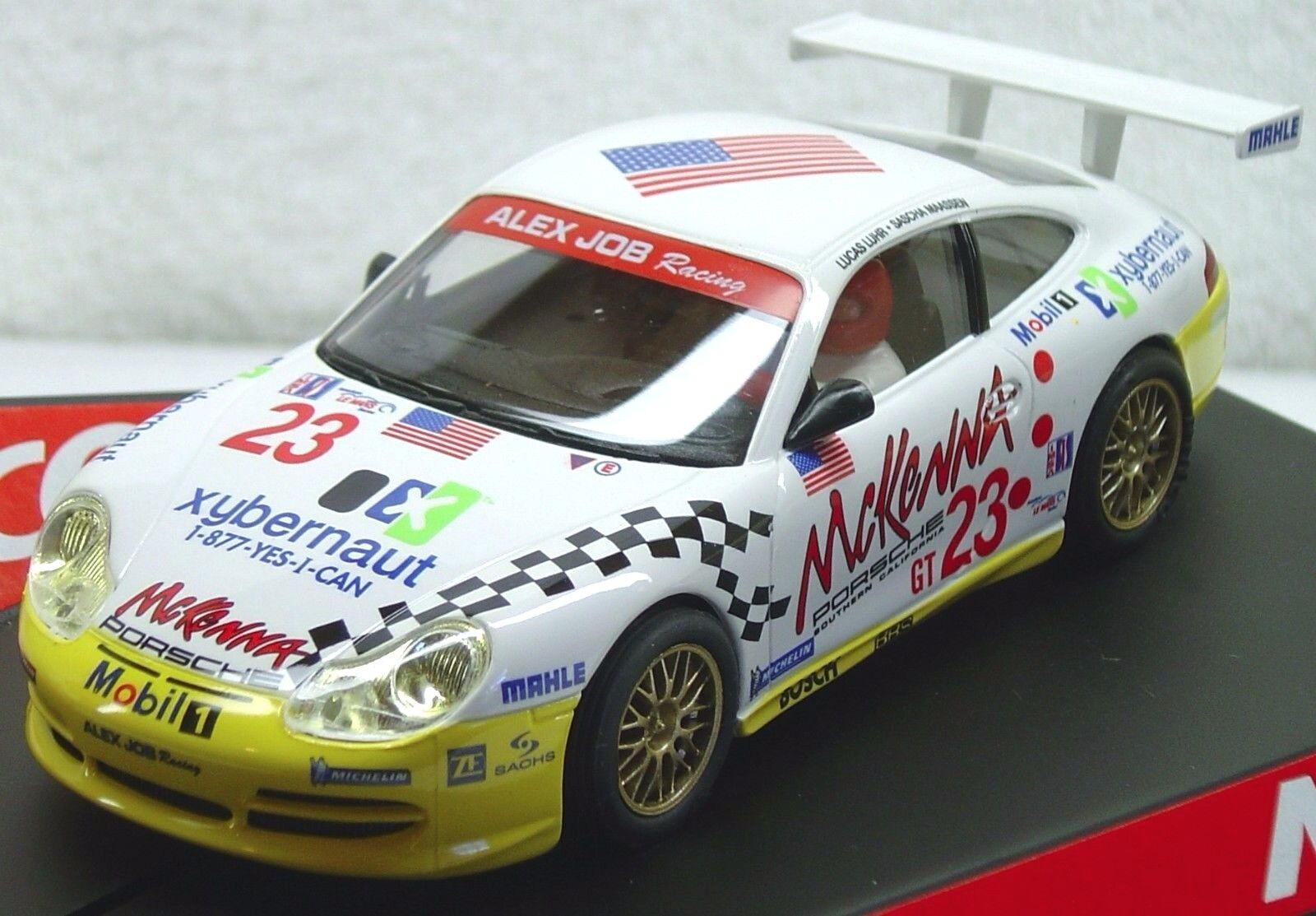 Porsche 911 gt3 ninco 50304 alex job 1   32 slot car neue
