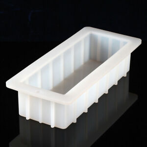10-039-039-Loaf-Soap-Mold-Silicone-Rectangle-DIY-Baking-Cake-Toast-Bread-Making-Tools