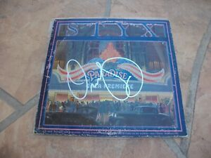 COA Matching Holograms Dennis DeYoung Signed Autographed /'Styx/' Record Album