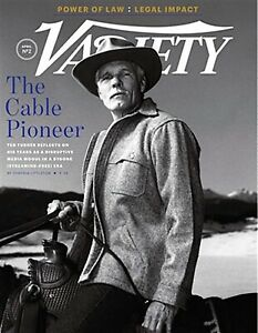 VARIETY MAGAZINE APRI 2019 #2- TEDTURNERTHE CABLE PIONEER-CABLE TV'S FUTURE