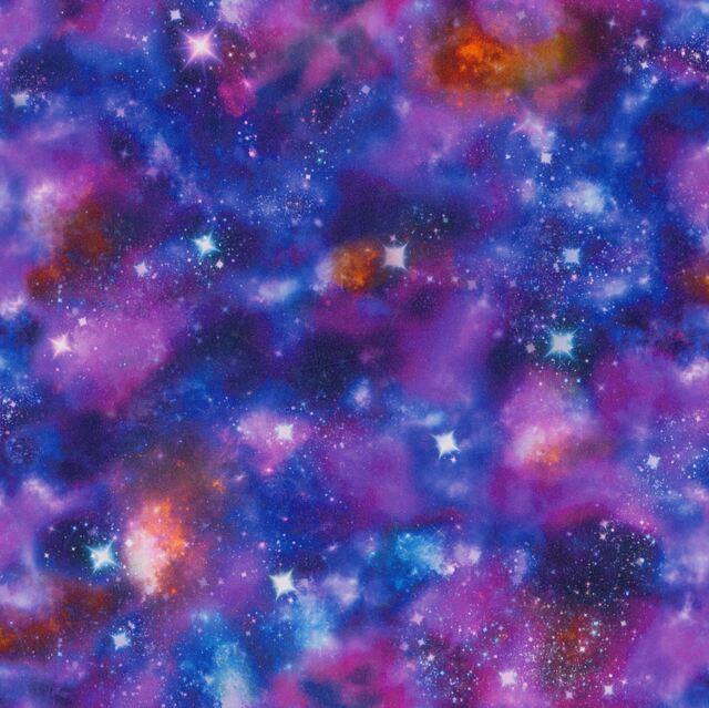 COSMIC SPACE GLOW IN THE DARK WALLPAPER - RASCH 292312 NEW