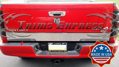 """fits 2009-2018 Dodge Ram 1500//10-18 2500 Tailgate Trim Accent Molding Cover 6/"""""""