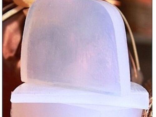 2 LB  PURE MELT/&POUR GLYCERIN SOAP BASE ULTRA CLEAR ORGANIC PERFECT SOAP BASE
