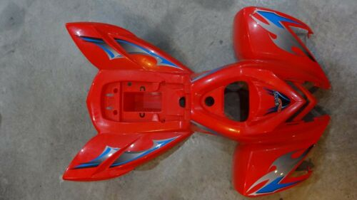 DINLI DL503 COBIA PLASTIC FENDER BODY  F130001 RED YELLOW  RARE NEW