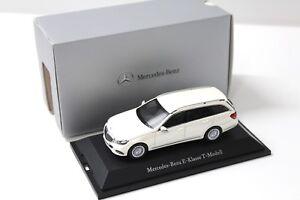 1-43-Kyosho-Mercedes-E-Klasse-T-Modell-white-DEALER-NEW-bei-PREMIUM-MODELCARS