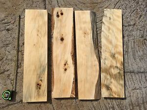 Cook Pine Wood From Hawaii 24 X4 6 X1 For Fine Woodworking Ebay