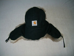CARHARTT-PENINSULA-TRAPPER-HAT-NEW-BLACK-L-XL
