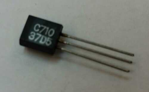 2SC710 Transistor NPN 30V 0,03A 0,2W 200Mhz