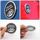 Black Metal 3D Trail Rated 4x4 Emblem Decal Sticker Badge For Land Cruiser RAV4