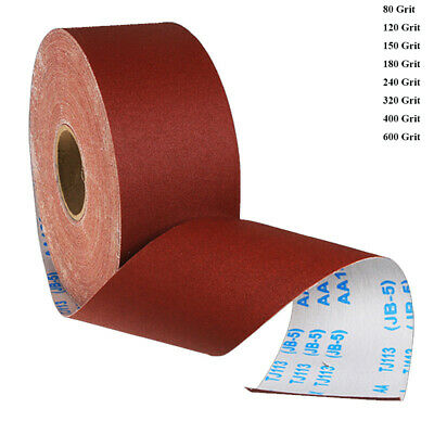 Emery Cloth Abrasive Sandpaper Sheets Sand Paper Aluminium Oxide Grit 60-600