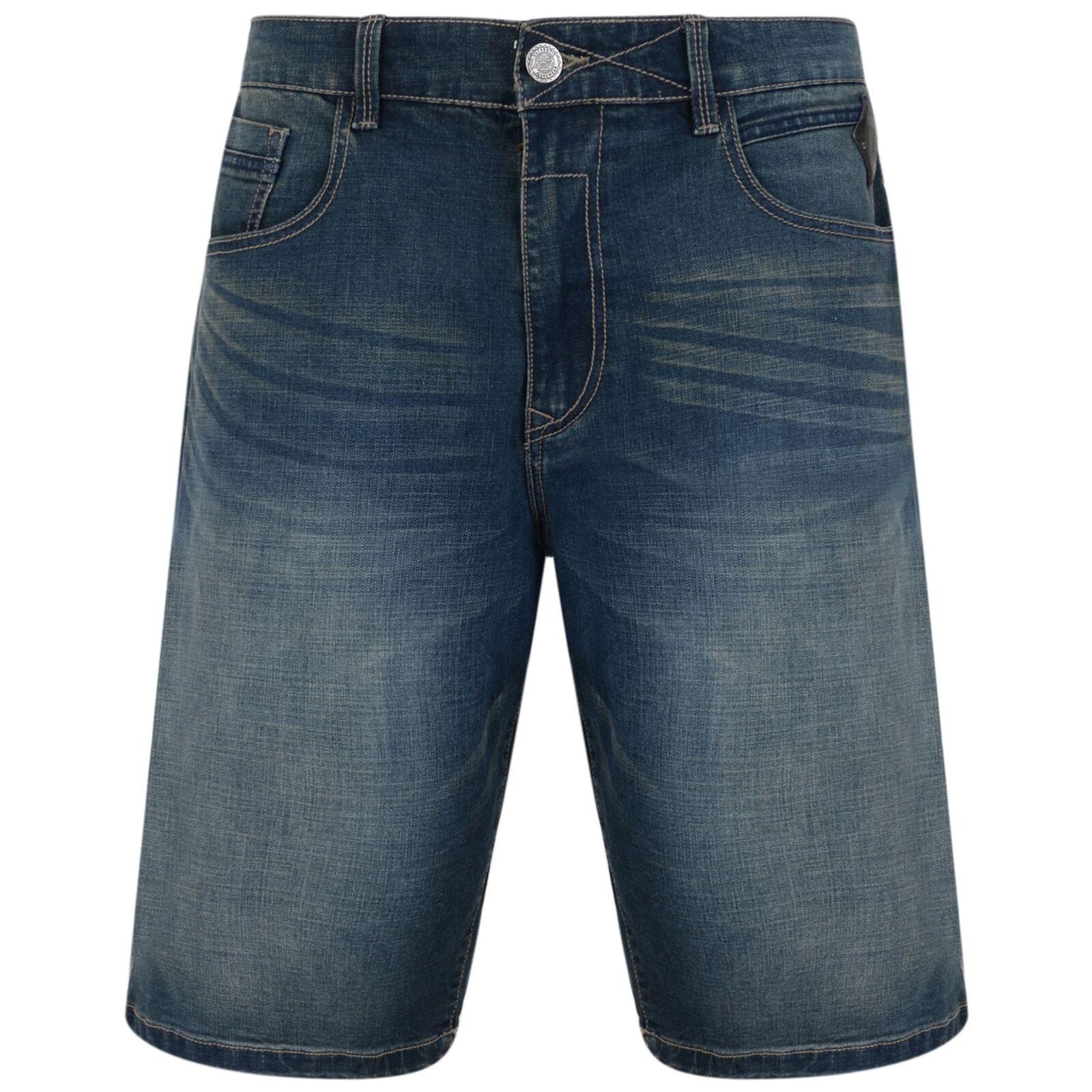 Kam Pantaloncini In Denim Stretch Da Uomo Sergio Sergio Sergio (2) in lavaggio scuro 6041c8