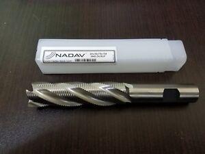 NADAV™ 20mm 4 Flute LONG Roughing End Mill M42 Cobalt Cutter 20x16x75x134