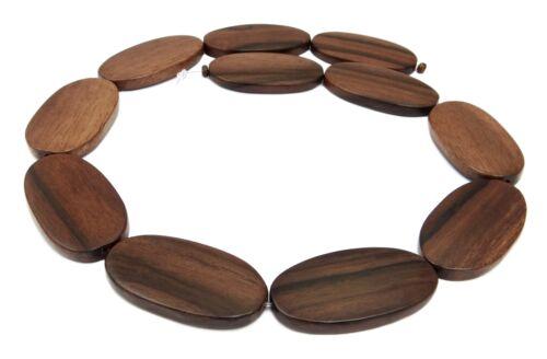 Tiger-Ebenholz große Ovale 20x36 mm Perlen große Holzperlen Naturperlen H.TI-7