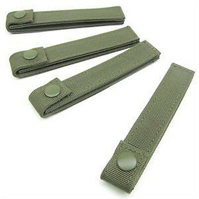 CONDOR MOD MOLLE Straps 223-001 Set of 4 - 4 inch OLIVE DRAB OD Green
