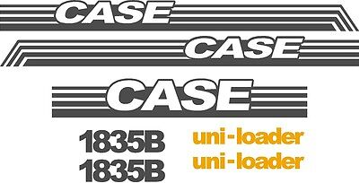 Case 1818 replacement decals sticker Decal kit NS